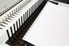 Office equipment bookbinding Royalty Free Stock Images