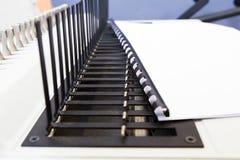 Office equipment bookbinding Stock Photos