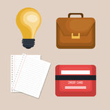 Office equipment design. Illustration eps10 graphic Stock Images
