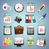 Office Equipment Icons Set1.1 Royalty Free Stock Photo