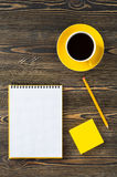 Office equipment on table Royalty Free Stock Photography