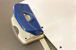 Office Equipments - Hole Puncher Royalty Free Stock Images