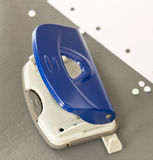 Office Equipments - Hole Puncher Royalty Free Stock Photography