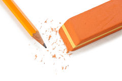 Office eraser Stock Photography