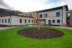 Office Exterior. A photo of the outside of the Cynon Valley Healthcare Development Royalty Free Stock Image