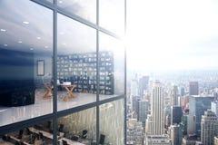 Office exterior/interior Royalty Free Stock Photo