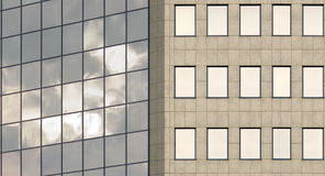 Office facade Royalty Free Stock Photos