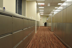 Office File Cabinets Royalty Free Stock Photo