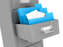 Office file drawer Royalty Free Stock Image