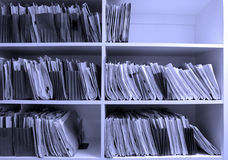 Office Files Royalty Free Stock Images