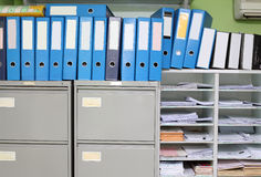 Office files Royalty Free Stock Photo