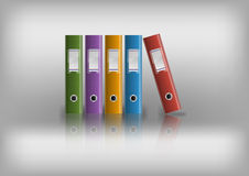 Office files Stock Photography