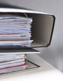 Office files, stack. Royalty Free Stock Images