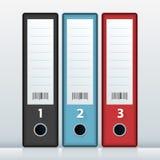 Office Fille Folders Stock Photos