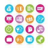 Office and finance icons Stock Photo