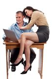 Office flirting Stock Photos