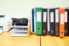 Office folder Stock Images