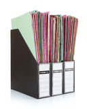 Office folders Stock Images