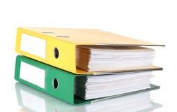 Office folders Stock Photography