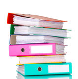Office folders Royalty Free Stock Photography