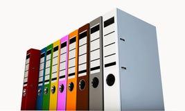 Office folders Royalty Free Stock Photos