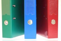 Office folders, binder Stock Photography