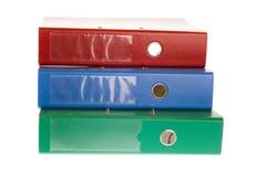 Office folders, binder Royalty Free Stock Photos