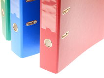 Office folders, binder Royalty Free Stock Photo