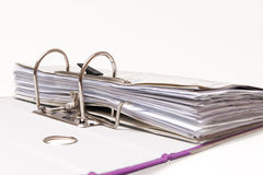 Office folders, binder Royalty Free Stock Image