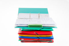 Office folders and binder Stock Photography