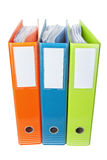 Office folders with documents. Stock Images