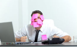 Office frustrated Royalty Free Stock Images