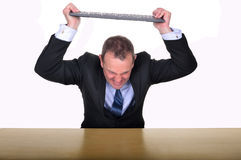 Office frustration Stock Image