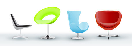 Office Furniture Royalty Free Stock Photography