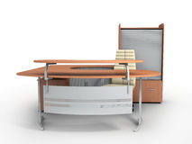 Office furniture royalty free illustration
