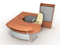 The office furniture Stock Photos