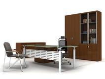 Office furniture stock illustration