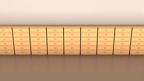 Office furniture, Abstract background Royalty Free Stock Images