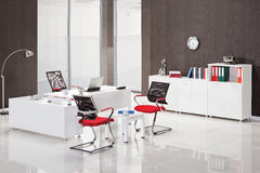 Office furniture. In the interior royalty free stock photos