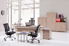 Office furniture. In the interior royalty free stock photography