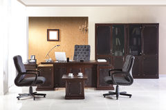 Office furniture. In the interior stock images