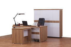 Office furniture. Isolated business design objects interior office Royalty Free Stock Photos