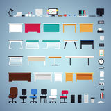 Office Furniture Set Royalty Free Stock Photography