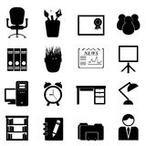 Office furniture and tools Stock Photo