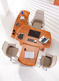 Office furniture top view Royalty Free Stock Photography