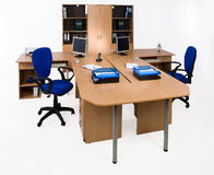 Office Furniture. On a white background stock photos