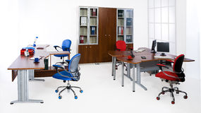 Office Furniture. On a white background royalty free stock image
