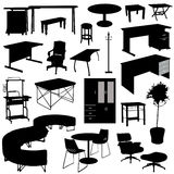 Office furnitures Royalty Free Stock Images