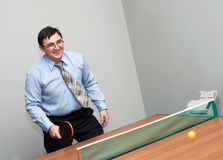 Office games Royalty Free Stock Photography