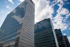 office gebouwen Stock Foto